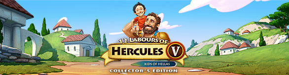 Game 12 Labours of Hercules V Kids of Hellas Collector s Edition