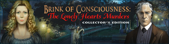 Game Brink of Consciousness The Lonely Hearts Murders Collector s Edition
