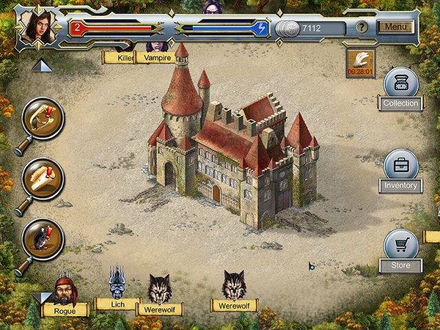 Game screenshot  «Castle Secrets: Between Day and Night» № 7