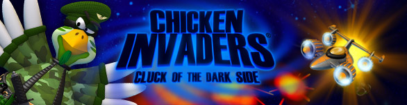 Game Chicken Invaders 5 Cluck of the Dark Side