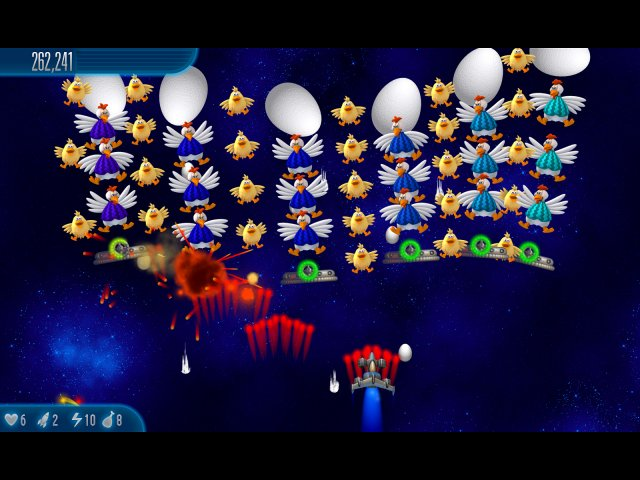 Game screenshot  «Chicken Invaders 5: Cluck of the Dark Side» № 4
