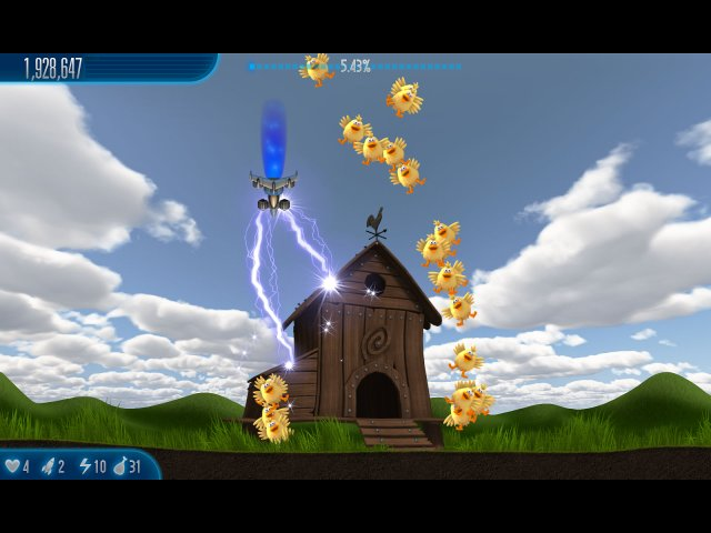 Game screenshot  «Chicken Invaders 5: Cluck of the Dark Side» № 5