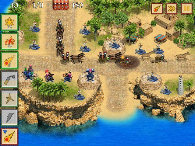 Game screenshot  «Defense of Egypt: Cleopatra Mission» № 4