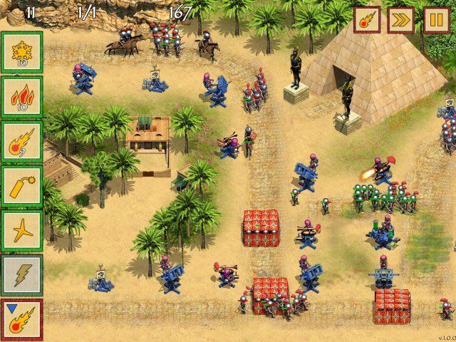 Game screenshot  «Defense of Egypt: Cleopatra Mission» № 5