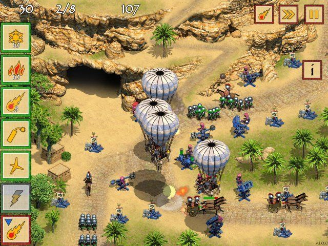 Game screenshot  «Defense of Egypt: Cleopatra Mission» № 6