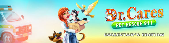 Game Dr Cares Pet Rescue 911 Collector s Edition