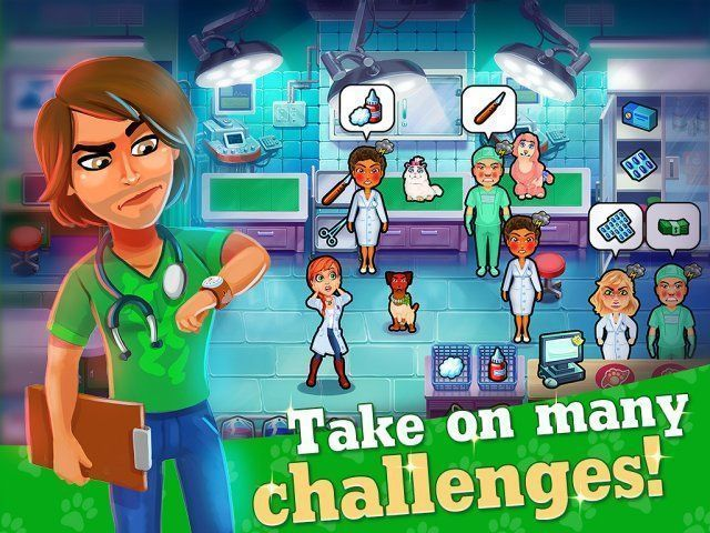 Game screenshot  «Dr. Cares: Pet Rescue 911. Collector's Edition» № 2