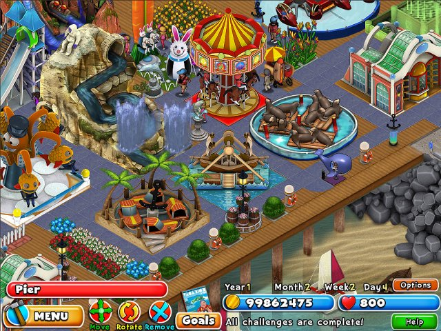 Game screenshot  «Dream Builder: Amusement Park» № 4