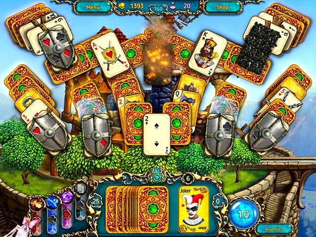 Game screenshot  «Dreamland Solitaire: Dragon's Fury» № 2