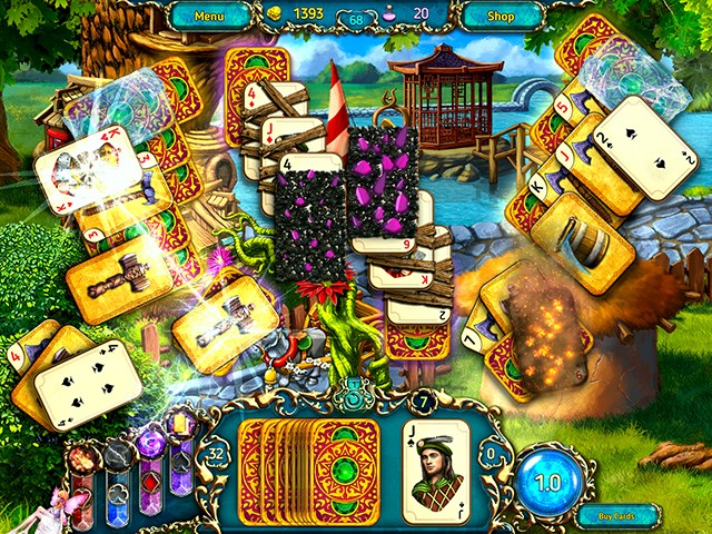 Game screenshot  «Dreamland Solitaire: Dragon's Fury» № 3