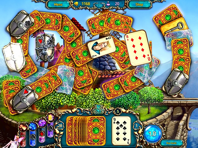 Game screenshot  «Dreamland Solitaire: Dragon's Fury» № 4