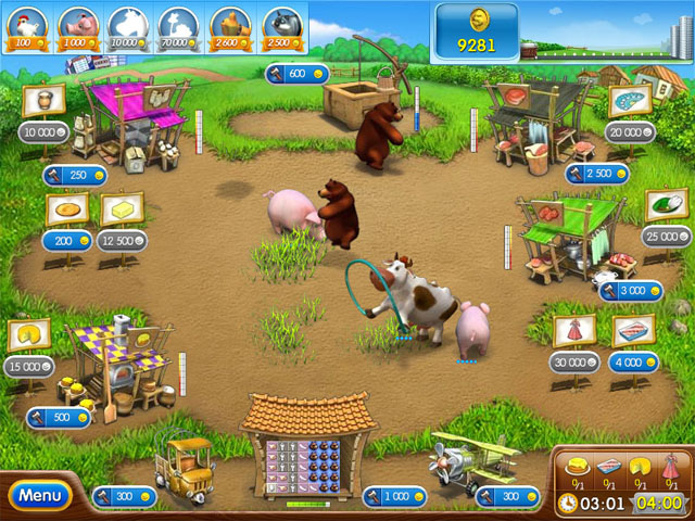 Game screenshot  «Farm Frenzy 2» № 3