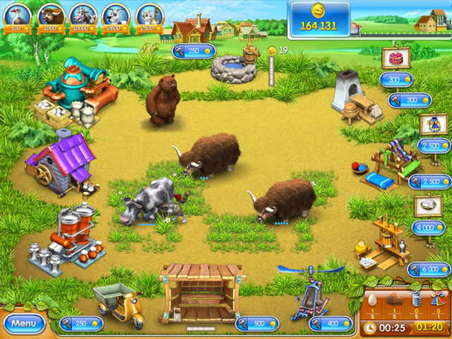 Game screenshot  «Farm Frenzy 3» № 2