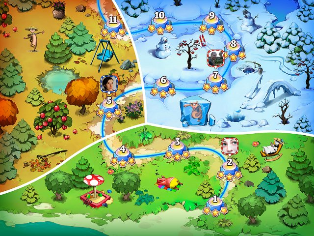 Game screenshot  «Farm Frenzy and Crazy Bear Island» № 2