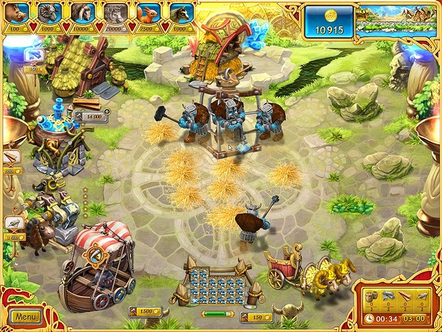 Game screenshot  «Farm Frenzy: Viking Heroes» № 1
