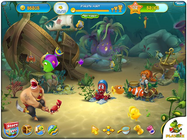 Game screenshot  «Fishdom 3» № 2