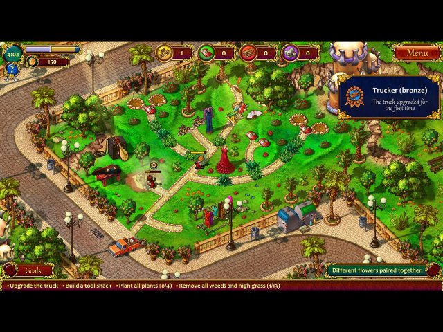 Game screenshot  «Gardens Inc. 3: A Bridal Pursuit. Collector's Edition» № 2
