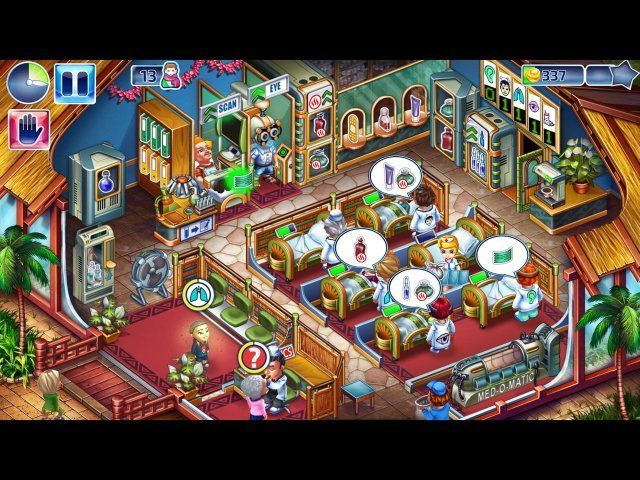Game screenshot  «Happy Clinic. Collector's Edition» № 5