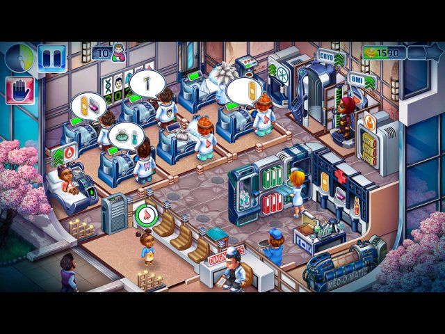 Game screenshot  «Happy Clinic» № 1