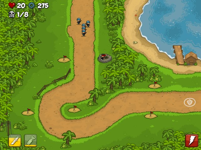 Game screenshot  «Islands Defense» № 6