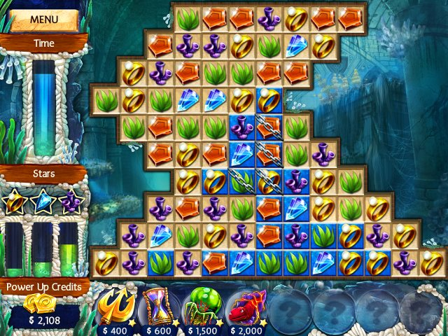 Game screenshot  «Jewel Legends: Atlantis» № 1