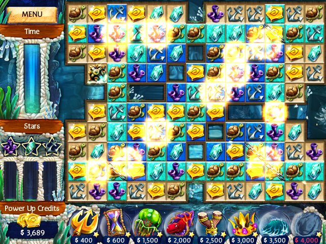 Game screenshot  «Jewel Legends: Atlantis» № 6