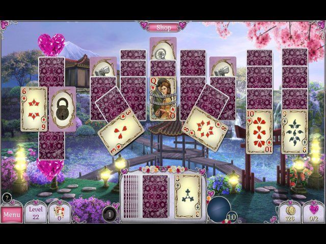Game screenshot  «Jewel Match Solitaire: L'Amour» № 2