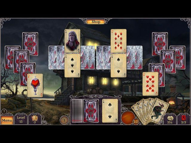 Game screenshot  «Jewel Match: Twilight Solitaire» № 1
