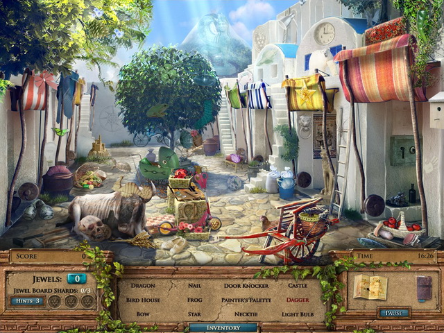 Game screenshot  «Jewel Quest Mysteries: The Seventh Gate» № 1