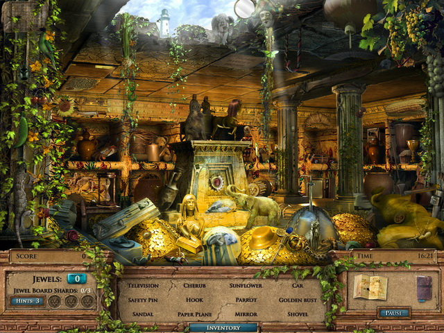 Game screenshot  «Jewel Quest Mysteries: The Seventh Gate» № 4