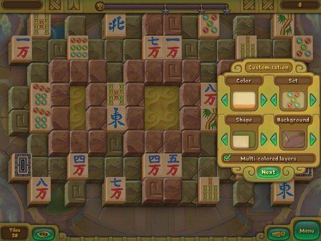 Game screenshot  «Legendary Mahjong» № 4