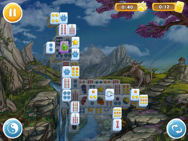 Game screenshot  «Mahjong: Wolf's Stories» № 4
