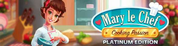 Game Mary le Chef Cooking Passion Platinum Edition