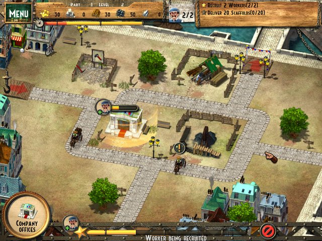 Game screenshot  «Monument Builders: Eiffel Tower» № 1