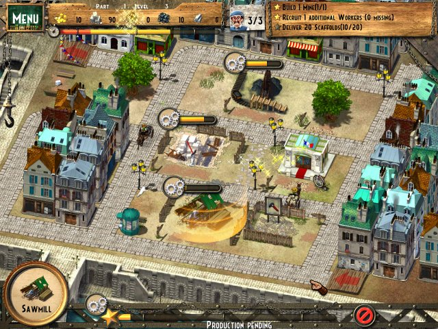 Game screenshot  «Monument Builders: Eiffel Tower» № 2