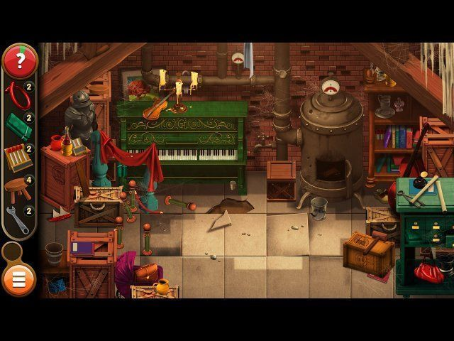 Game screenshot  «Mortimer Beckett and the Book of Gold. Collector's Edition» № 5