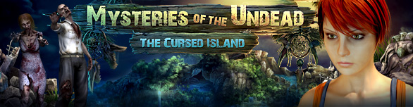 Game Mysteries of the Undead The Cursed Island