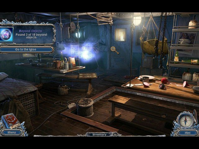 Game screenshot  «Mystery Expedition: Prisoners of Ice» № 4