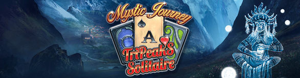Game Mystic Journey Tri Peaks Solitaire