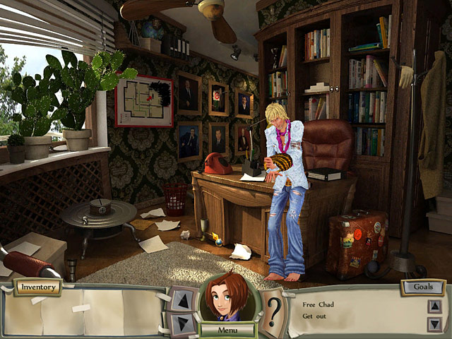Game screenshot  «Natalie Brooks - Mystery at Hillcrest High» № 3
