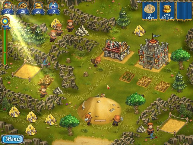 Game screenshot  «New Yankee in King Arthur's Court 2» № 1