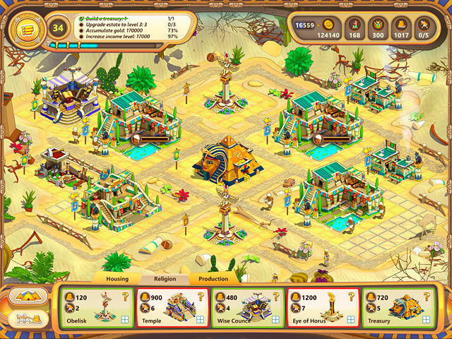 Game screenshot  «Ramses: Rise of Empire. Collector's Edition» № 3