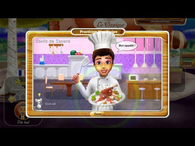 Game screenshot  «Rat and Louie: Cook from the Heart» № 2