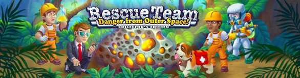 Game Rescue Team Danger from Outer Space Collector s Edition