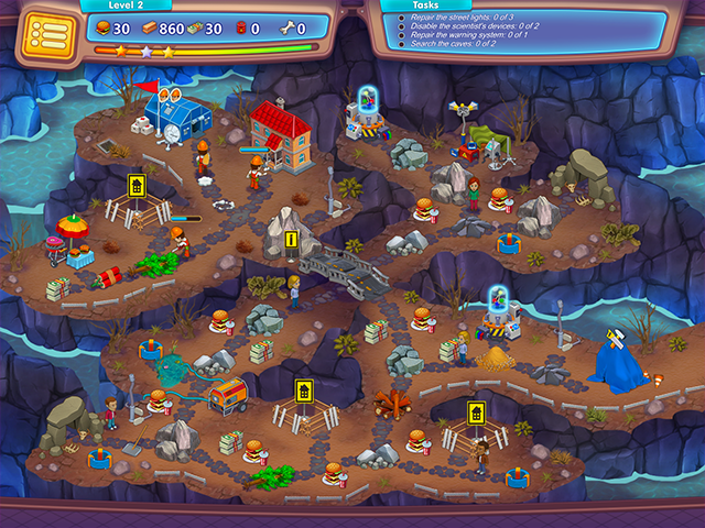 Game screenshot  «Rescue Team: Evil Genius. Collector's Edition» № 3