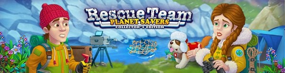 Rescue Team: Planet Savers. Collector's Edition