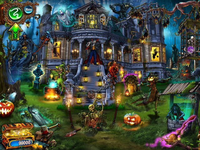 Game screenshot  «Save Halloween: City of Witches» № 1