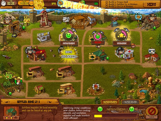Game screenshot  «Settlers of the West» № 1