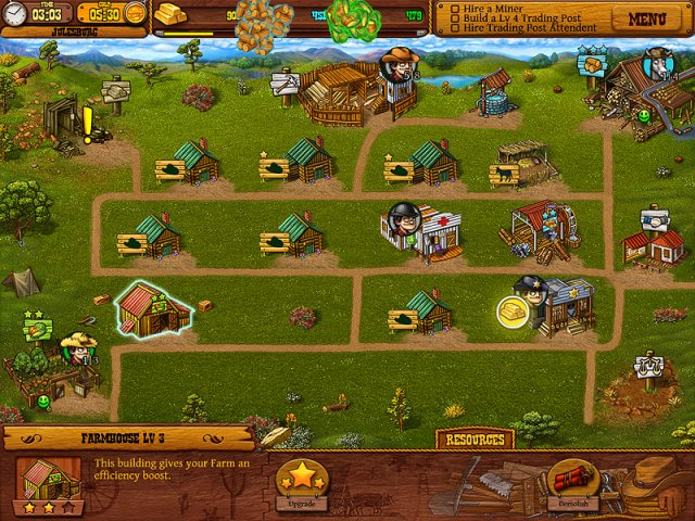 Game screenshot  «Settlers of the West» № 4