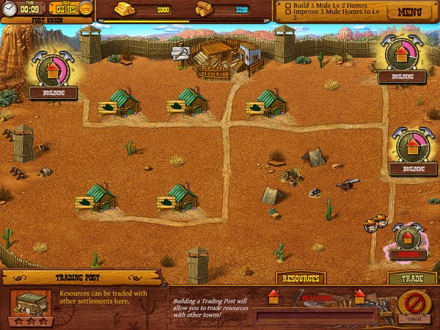 Game screenshot  «Settlers of the West» № 7